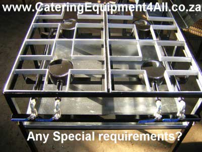 Photo: Staggered boiling table, to your specification