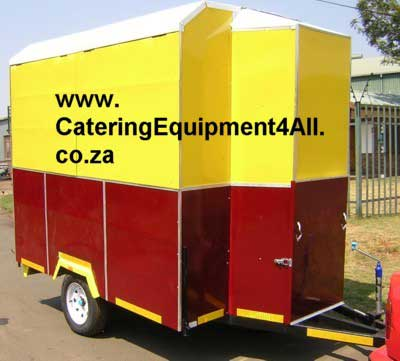 Photo: Funeral food Trailer - Wedding food trailer 2 colours