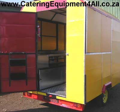 Photo: Food Trailer - red and yellow back