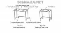 Figure 2 and 3  Assembly instructions for Vibration Isolation Table