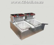 Double Electric Chip Fryers for sale