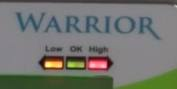 warrior scale weight limit led lights