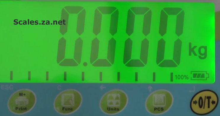 photo: warrior washdown indicator 4cm digits display keypad