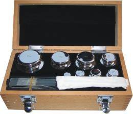 calibration-weight-set-for-sale-in-wooden-box photo
