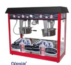 Popcorn Machine 2 x 8oz red