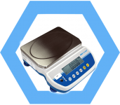 LBX Latitude high-resolution compact counting scale
