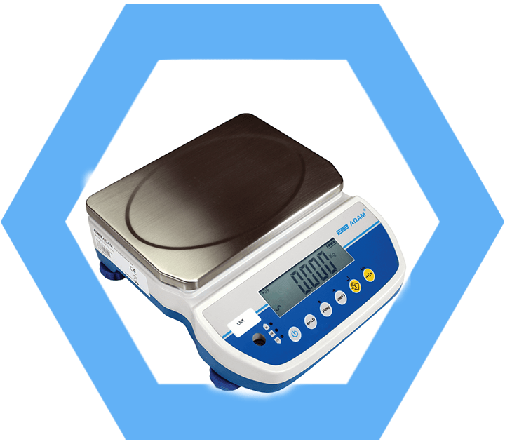 LBX Latitude high resolution compact counting scale