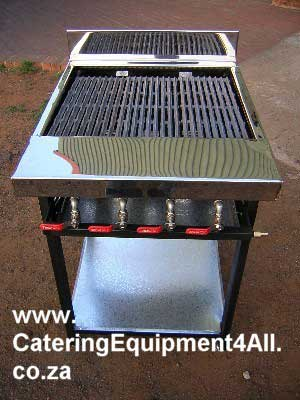 Photo: Gas braai 4 burner floor model