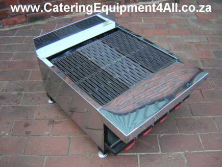 Photo: Gas braai 4 burner tabletop model