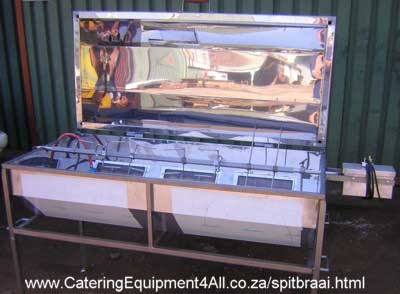 Photo: 3 Burner Commercial Spitbraai