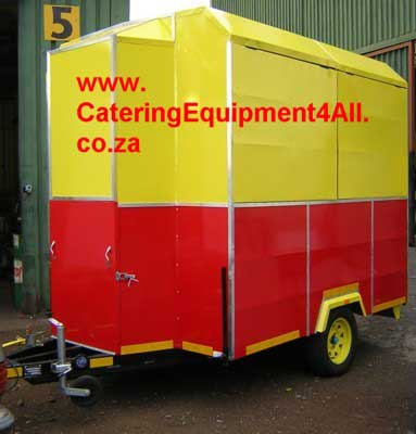 Mobile food vending Trailers - www CateringEquipment4All co za